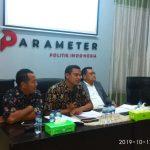 """Rilis Survei Nasional Parameter Politik Indonesia """"Evaluasi Kinerja Jokowi dan Harapan Publik di Periode Kedua"""""""